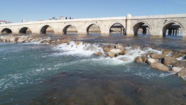 Eriyen kar suları, Kızılırmak'ın debisini yükseltti