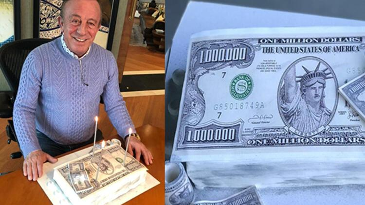 Ali Ağaoğlu'na 1 milyon dolarlık pasta