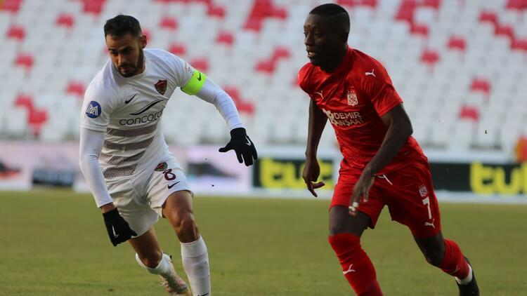 Sivasspor 1-1 Hatayspor