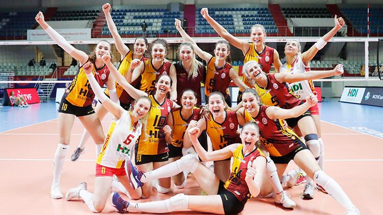 Galatasaray HDI Sigorta, CEV Kupası'nda finalde!
