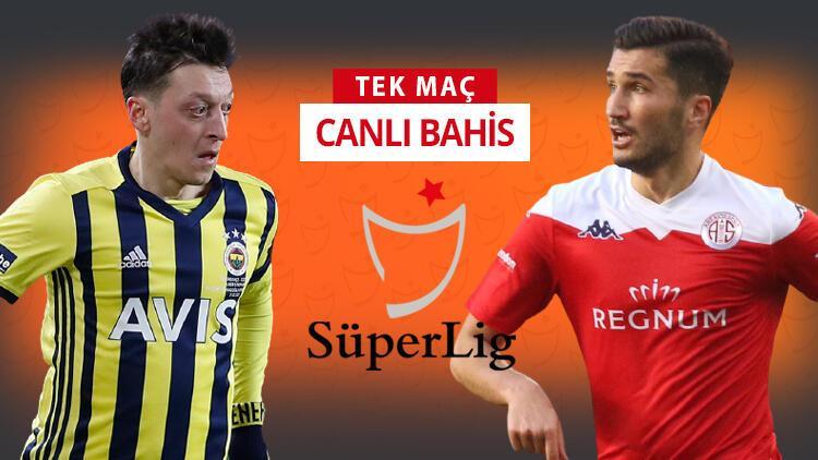 Fenerbahçe şampiyonluk, Antalyaspor rekor peşinde! Bu maça iddaa oynayanların %71'i...