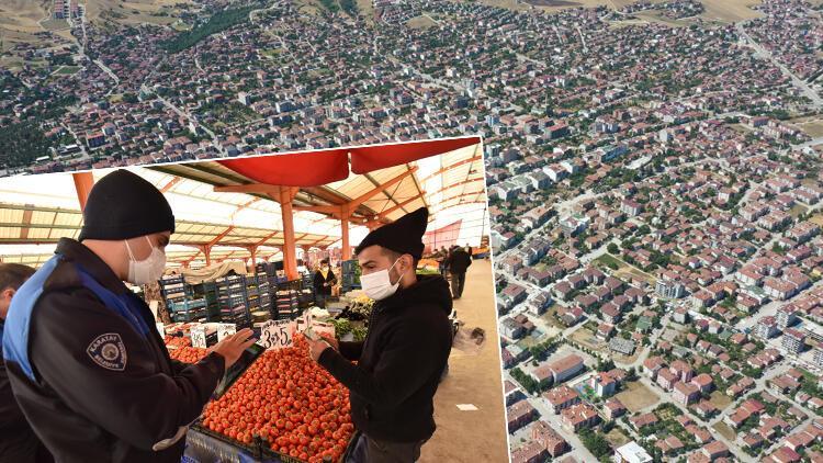 Koronavirüs vaka artışı olan Erbaa'da, semt pazarları 14 gün kapatıldı