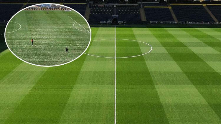 Fenerbahçe Antalyaspor maçına saatler kala zeminin son durumu...