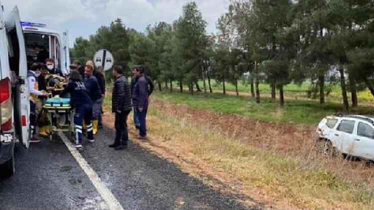 HDP'li kadın yöneticilerin otomobili devrildi! 4 yaralı