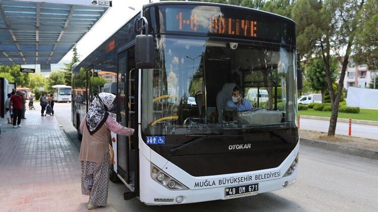 Muğla'da toplu ulaşıma düzenleme! Artık o vatandaşlar da faydalanabilecek...