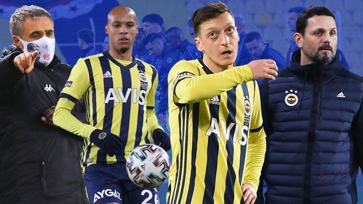 Fenerbahçe-Antalyaspor maçındaki tarihi gol sonrası sosyal medya yıkıldı! Tisserand ve Mesut Özil...