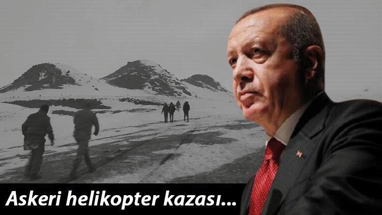 Son dakika haberi: Bitlis'teki askeri helikopter kazası... Cumhurbaşkanı Erdoğan şehit Korgeneral Erbaş'ın oğluna taziyelerini iletti