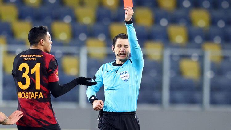 Son dakika: Galatasaray'dan Mostafa Mohamed'in kırmızı kartı için resmi başvuru!