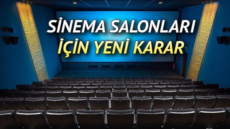 Sinemalar ne zaman açılacak, açıldı mı? Sinema salonlarının açılış tarihi için son gelişmeler