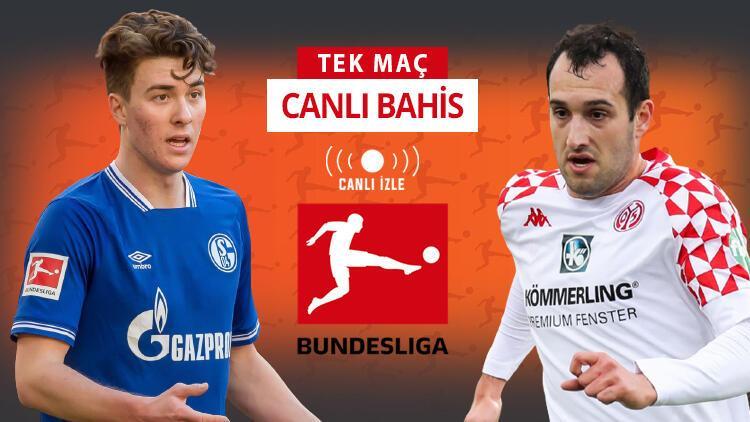 Schalke'de 9 sakat, artı 2 de şüpheli Gelsenkirchen'de Mainz'ın iddaa oranı...
