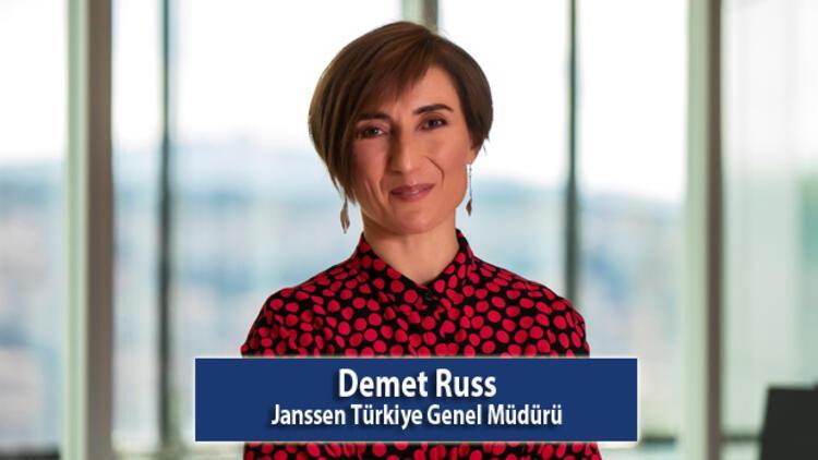 """Janssen Türkiye Genel Müdürü Demet Russ:  """"Dünya Kadınlar Günü'nde hayalim, kız çocuklarının her şeyi başarabileceklerine inandıkları bir dünya"""""""