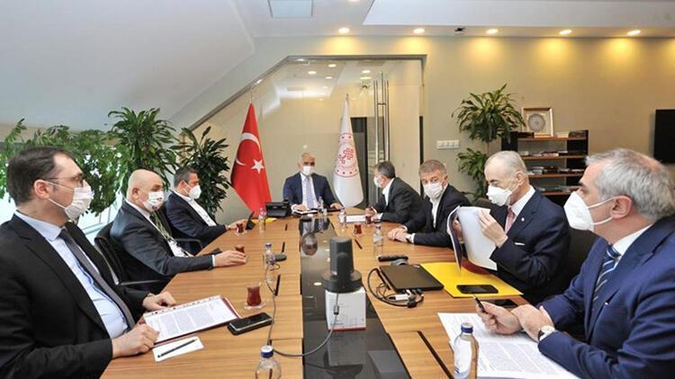 Kulüpler Birliği yöneticileri, Kültür ve Turizm Bakanı Mehmet Nuri Ersoy ile görüştü