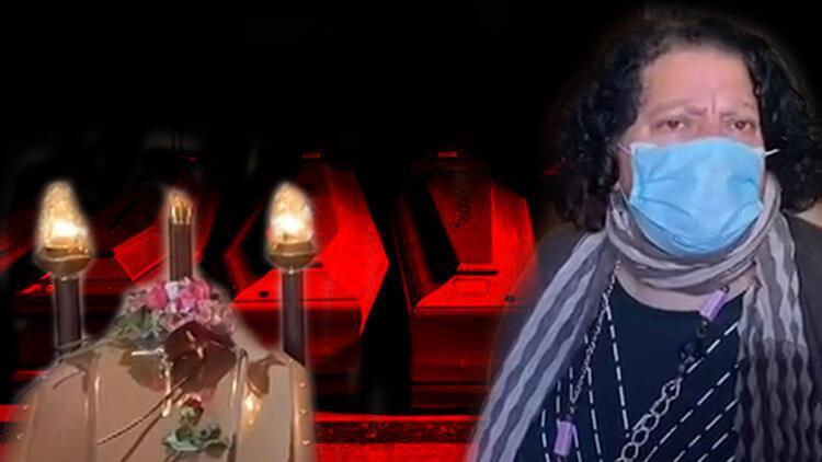 İtalya'da mezar yeri kalmadı... Annesinin tabutunu 10 gündür salonda tutuyor