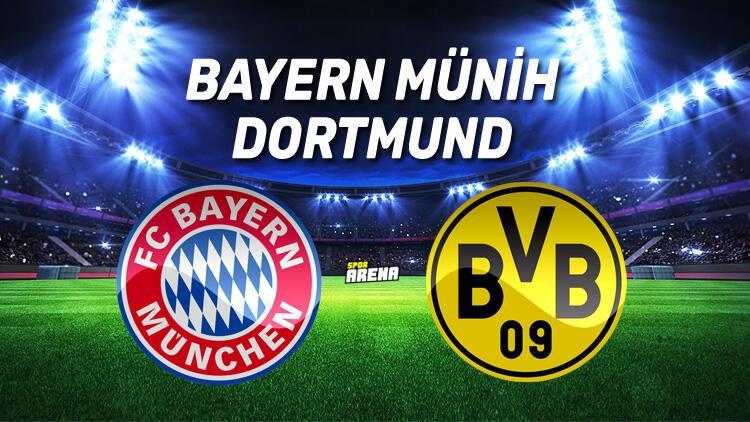 Bayern Münih Dortmund maçı saat kaçta, hangi kanaldan canlı yayınlanacak?