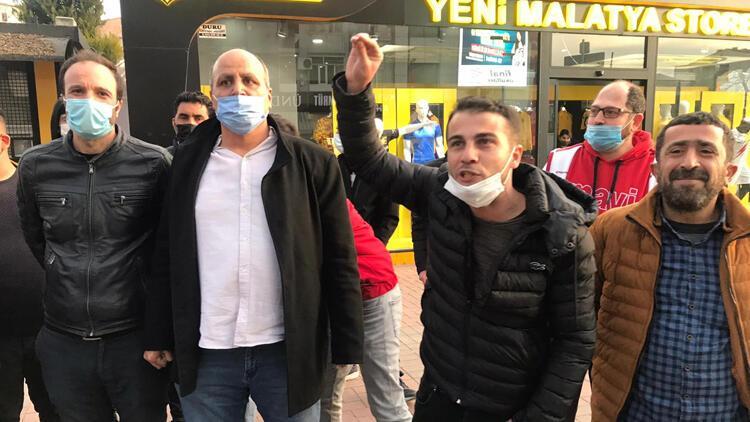 Malatyaspor taraftarlarından Başkan Adil Gevrek'e istifa çağrısı