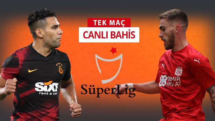 Galatasaray'da Falcao ve Taylan ilk 11'e dönüyor! Sivasspor karşısında galibiyetlerine iddaa'da...