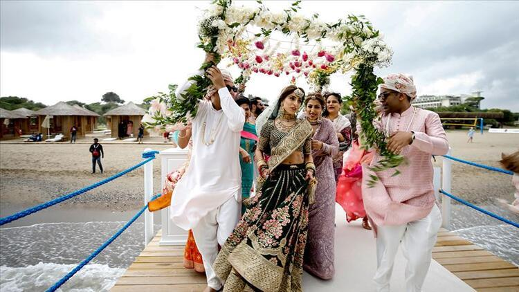 2021 sezonu talep patlaması bekleniyor! Antalya'da Hint düğünleri için hazırlıklar tamamlandı