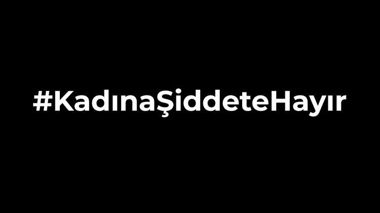 Samsun'daki şiddet olayının ardından spor kulüplerinden 'Kadına Şiddete Hayır' mesajları