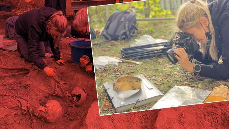 Utancın fotoğrafı... Polonya'da yapılan arkeolojik kazılarda bulundu