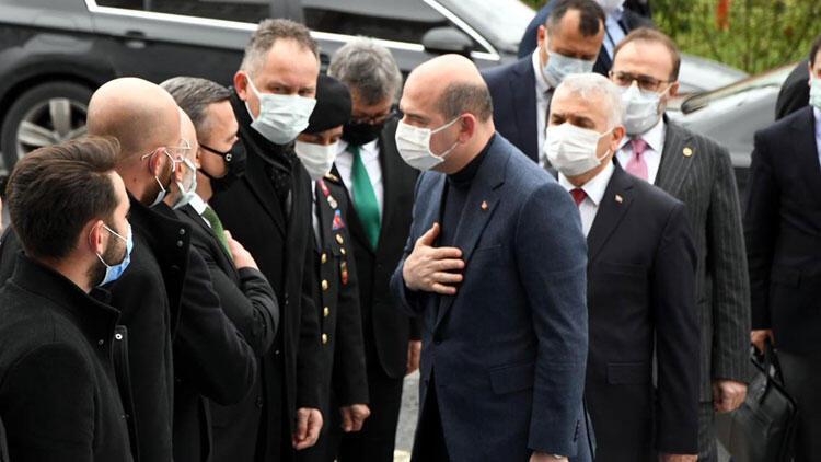 Bakan Soylu, Çorlu'da Güvenlik Toplantısı'na katıldı