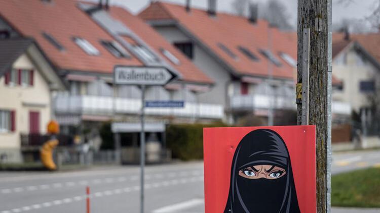 İsviçre'de peçe ve burka yasaklanıyor