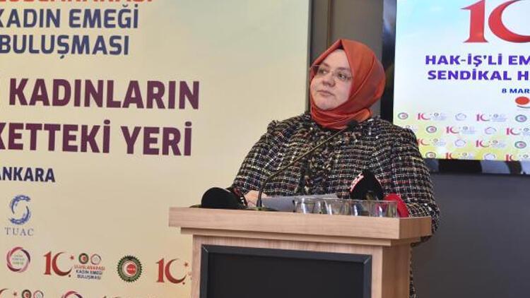 Bakan Selçuk: Kadın hakları savunuculuğu yapanlar içlerindeki şiddet ve tacize ses çıkarmıyor