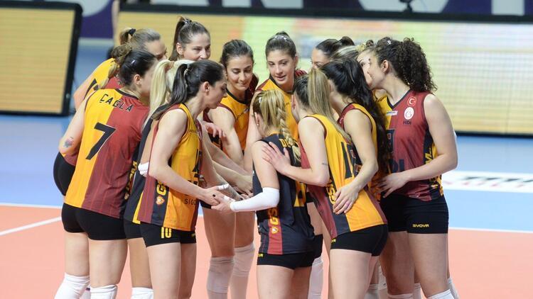 Galatasaray Kadın Voleybol Takımı'nda koronavirüs vaka sayısı 3'e yükseldi