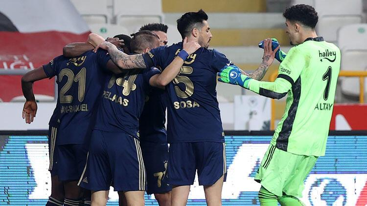Konyaspor 0-3 Fenerbahçe (Maçın özeti ve goller)