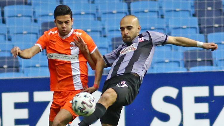 Adanaspor: 1 - Aydeniz Et Balıkesirspor: 1