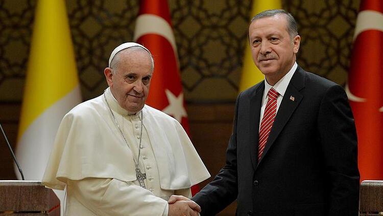 Papa, Cumhurbaşkanı Erdoğan'a telgraf gönderdi