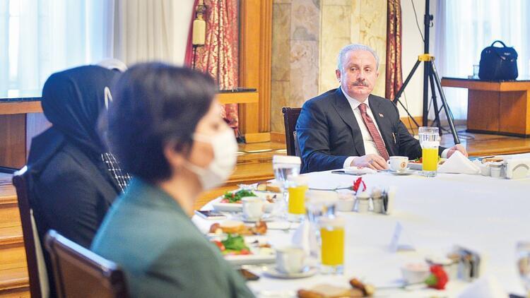 Meclis Başkanı Şentop: Kadına şiddet toplumsal mesele