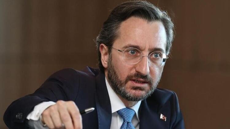 Fahrettin Altun'dan İYİ Parti'ye cevap