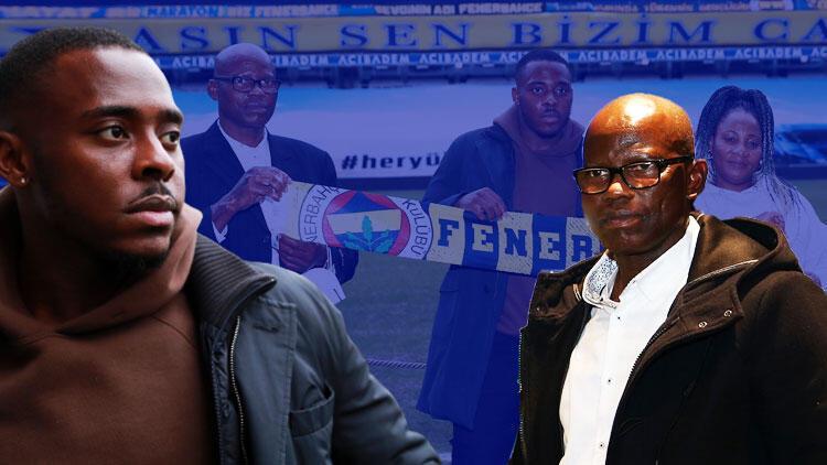 Fenerbahçe'de Bright Osayi-Samuel'den itiraf: 'Babam da taraftarıydı'