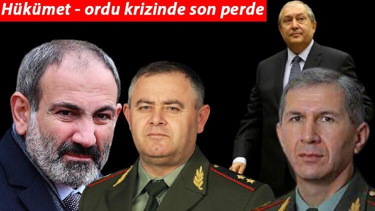 Hükümet-ordu krizinde son perde: Paşinyan köşeye sıkıştı!