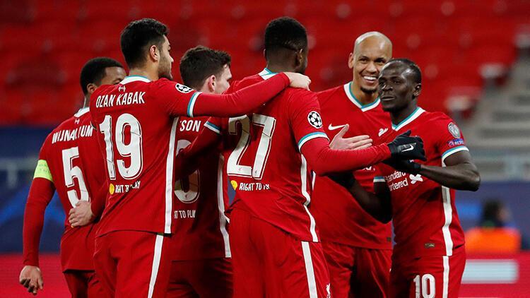 Liverpool evinde hata yapmadı, Şampiyonlar Ligi'nde çeyrek finale yükseldi!