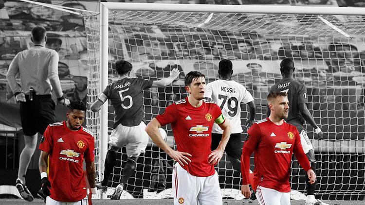 Manchester United - Milan maçında akılalmaz pozisyon! Harry Maguire inanılmazı kaçırdı...