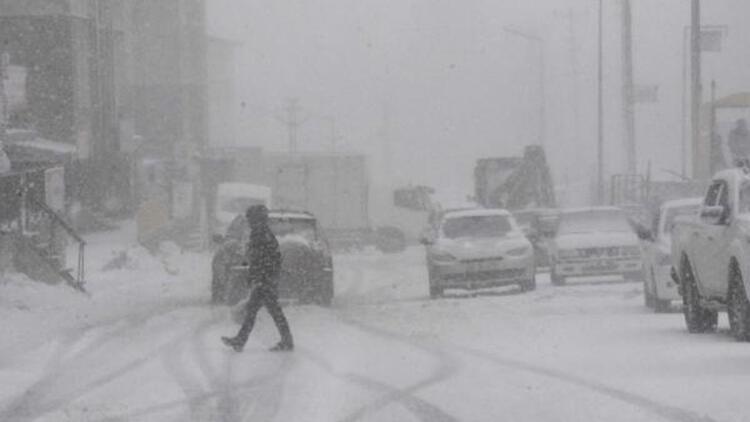Bitlis'te tipi etkili oldu: 14 köy yolu kapalı