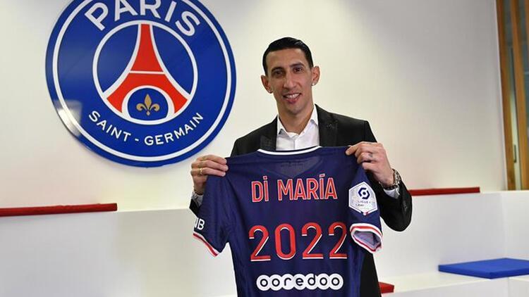 PSG, Angel Di Maria'nın sözleşmesini uzattı
