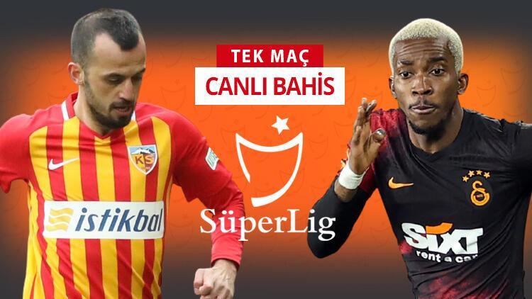 Galatasaray, Kayseri'ye 6 eksikle gitti! Bu maça iddaa oynayanların %57'si...
