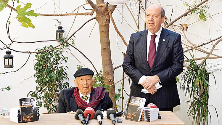 Cumhurbaşkanı Tatar'ın babası Kıbrıs Türk direnişini kitabında anlattı