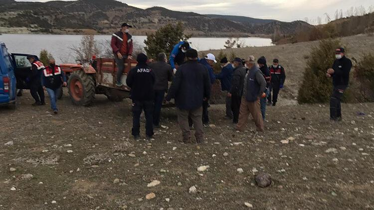 Aranan kayıp adamın cansız bedeni barajda bulundu