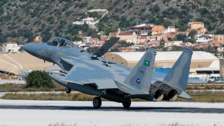 Akdeniz'de Yunanistan - Suudi Arabistan tatbikatı hazırlıkları tamamlandı
