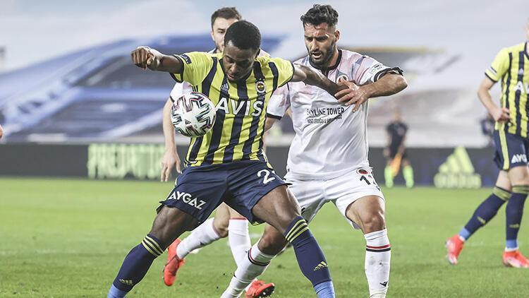 Fenerbahçe 1-2 Gençlerbirliği (Maçın özeti ve golleri)