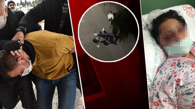 5 yaşındaki kızının önünde eski eşini döven İbrahim Zarapın tutukluluğuna itiraz edildi
