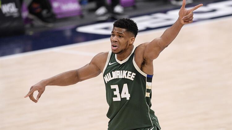 """NBA'de Gecenin Sonuçları: Giannis Antetokounmpo'dan üst üste 3'üncü """"triple double"""""""