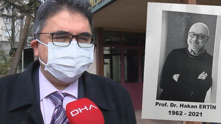 Prof. Dr. Hakan Ertin'den acı haber... Sevenleri yasa boğuldu