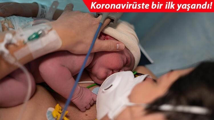 Son dakika haberler... Dünyada bir ilk! Kovid-19 aşısı olan annenin bebeği antikorla doğdu