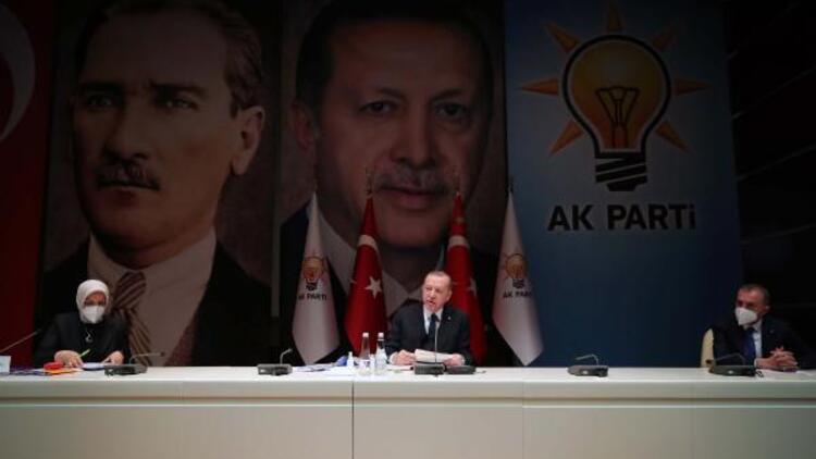 Cumhurbaşkanı Erdoğan, AK Parti Kadın Kolları MKYK toplantısına katıldı