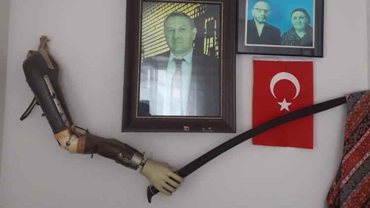 Çanakkale Savaşı'nda kolunu kaybetmişti! Müzede sergilenecek