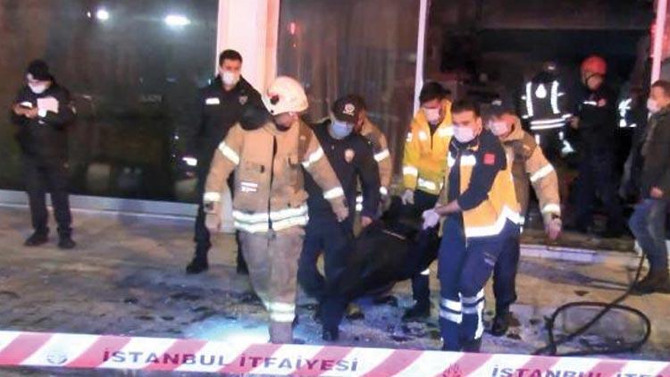 Kaldığı mağazada yangın çıkan engelli vatandaş hayatını kaybetti